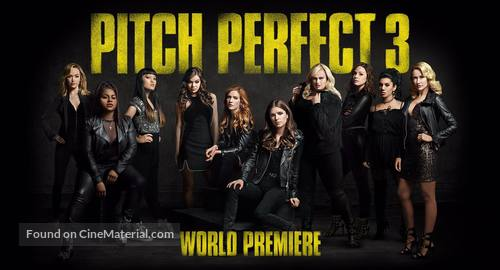Pitch Perfect 3 - Movie Cover