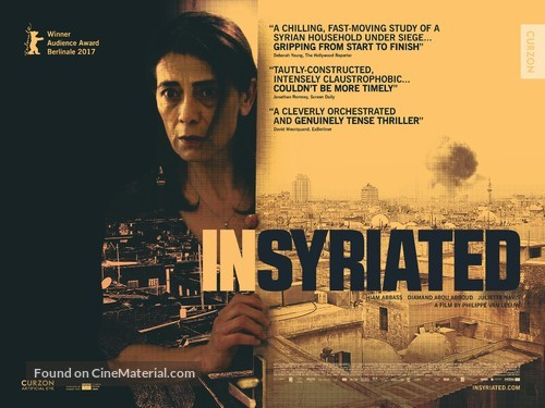 Insyriated - British Movie Poster
