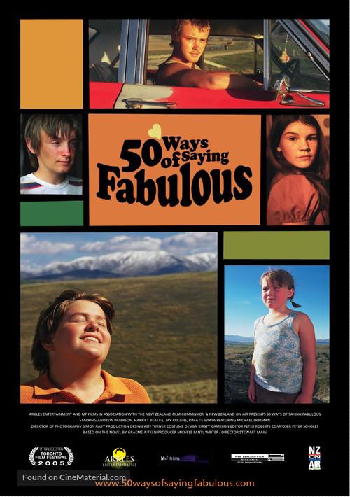 50 Ways of Saying Fabulous - New Zealand Movie Poster