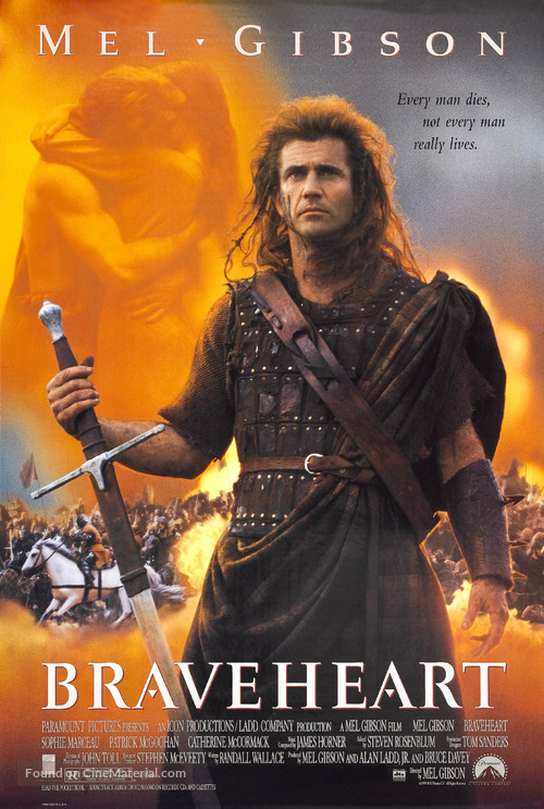 Braveheart - Theatrical movie poster