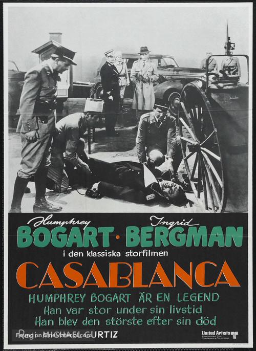Casablanca - Swedish Movie Poster
