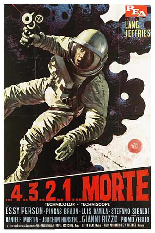 ...4 ...3 ...2 ...1 ...morte - Italian Movie Poster