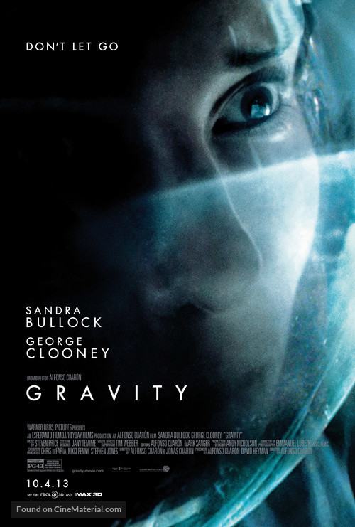 Gravity - Character movie poster