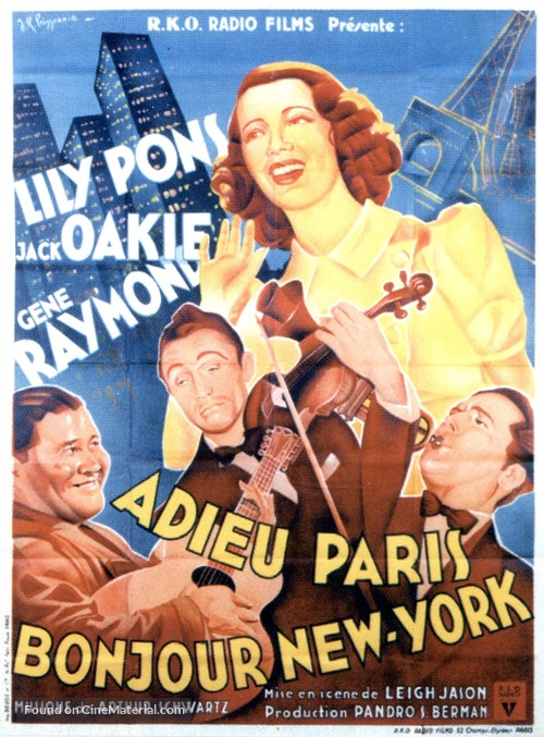 That Girl from Paris - French Movie Poster