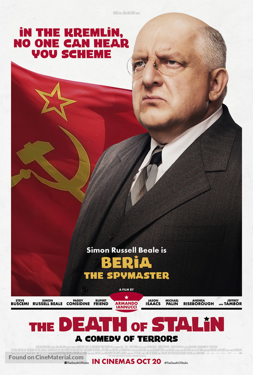 The Death of Stalin - British Movie Poster