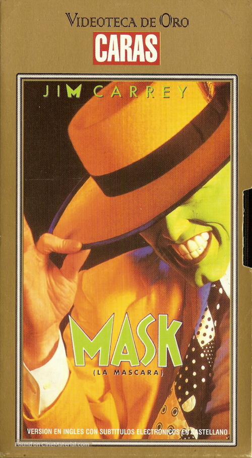 The Mask - Argentinian VHS movie cover