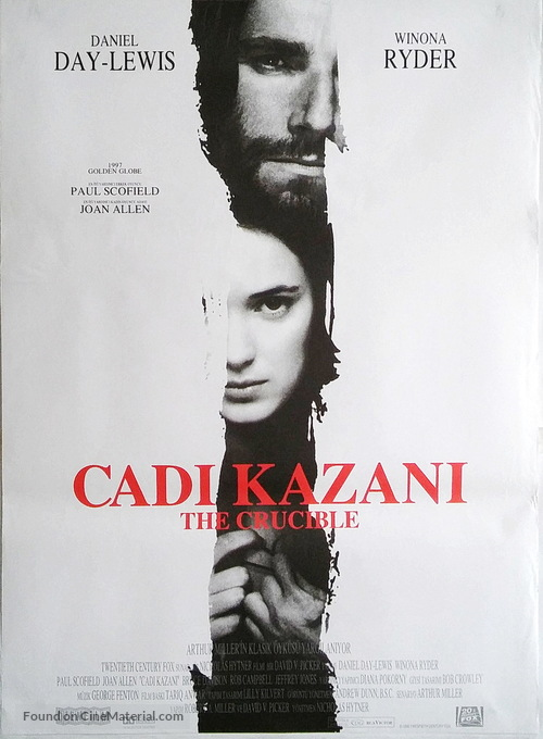 The Crucible - Turkish Movie Poster