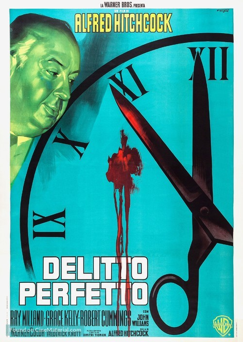 Dial M for Murder - Italian Re-release poster