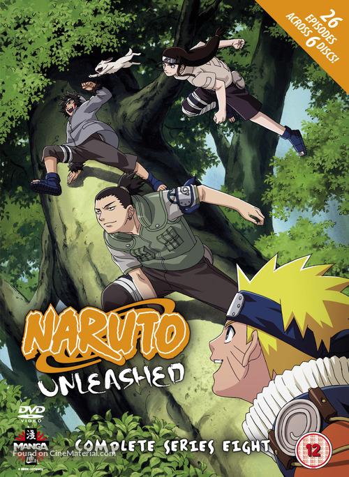 """Naruto: Shippûden"" - British DVD movie cover"