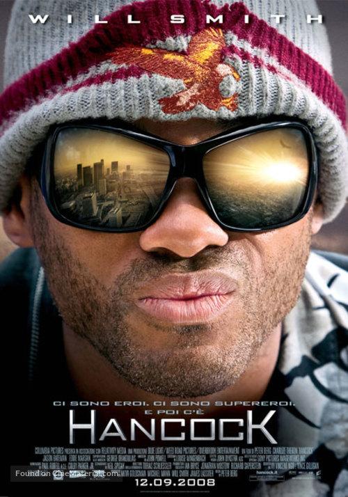 Hancock - Italian Movie Poster