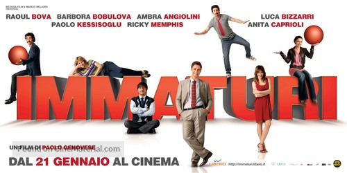 Immaturi - Italian Movie Poster