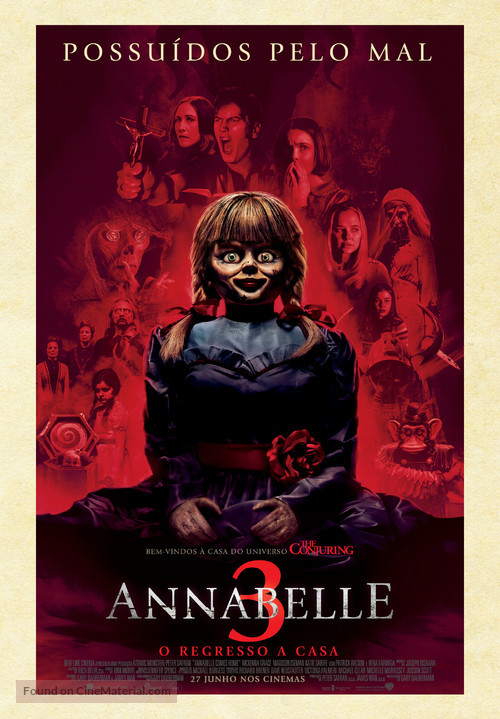 Annabelle Comes Home - Portuguese Movie Poster