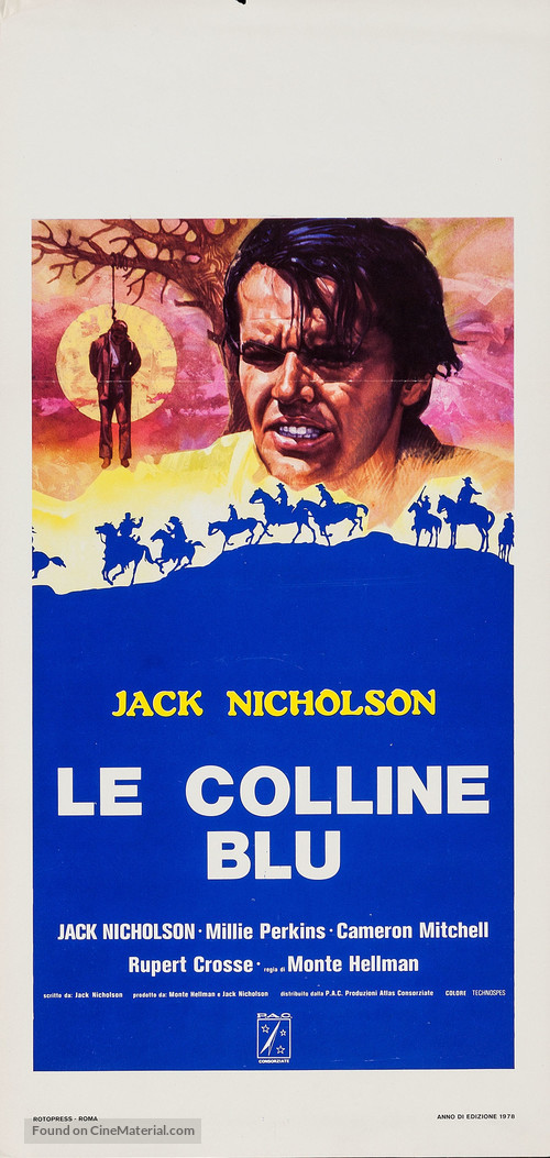 Ride in the Whirlwind - Italian Movie Poster