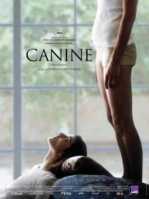 Kynodontas - French Movie Poster