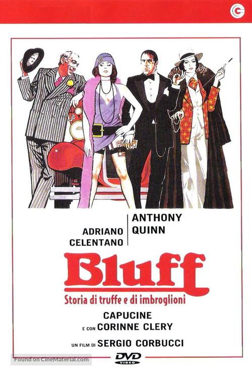 Bluff storia di truffe e di imbroglioni - Italian Movie Cover