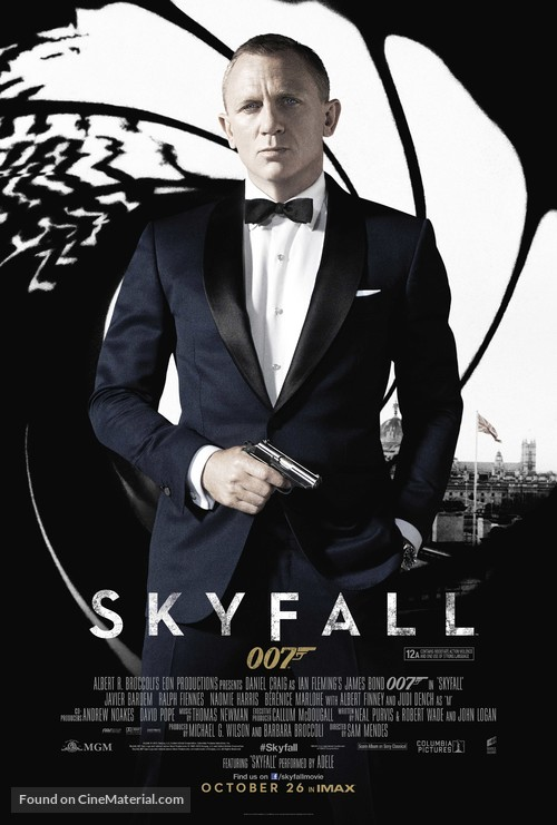 Skyfall - British Movie Poster