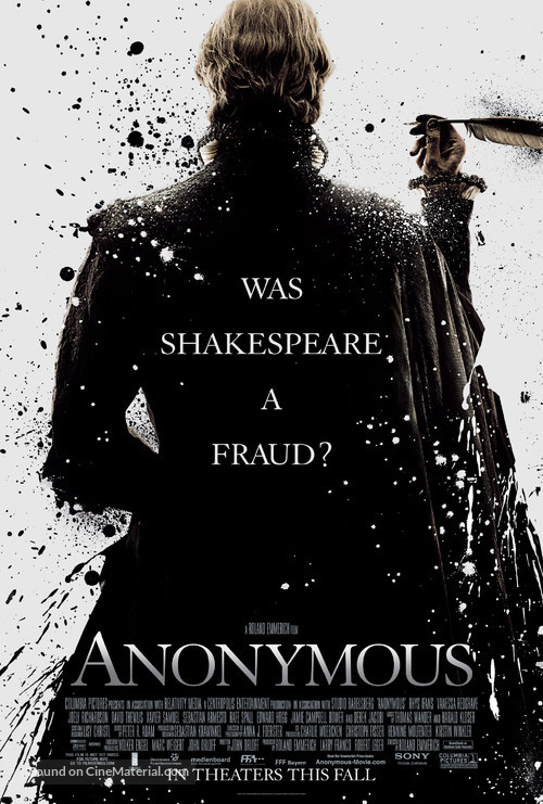 Anonymous - Movie Poster