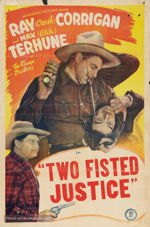 Two Fisted Justice - Movie Poster