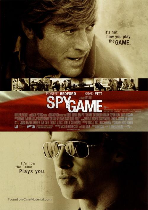Spy Game - Movie Poster