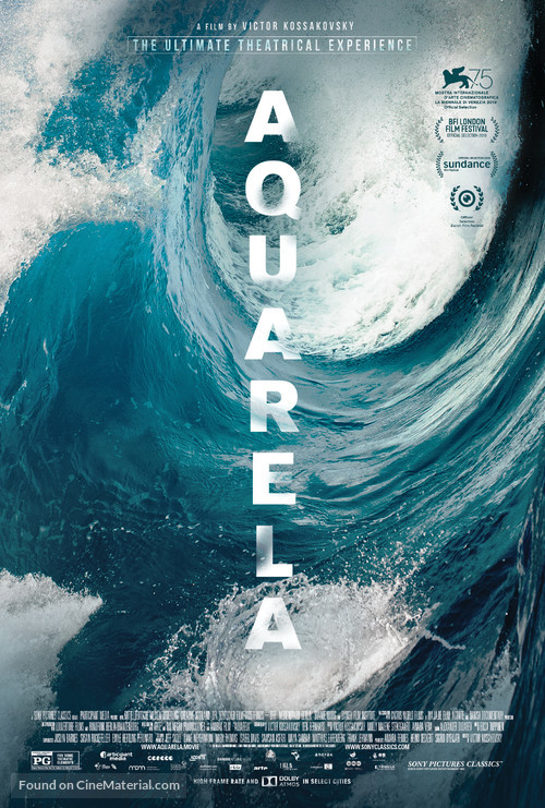 Aquarela - Movie Poster