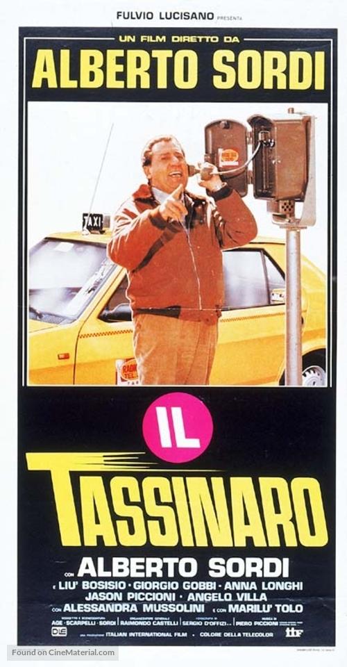 Il tassinaro - Italian Movie Poster
