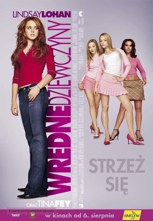 Mean Girls - Polish Movie Poster