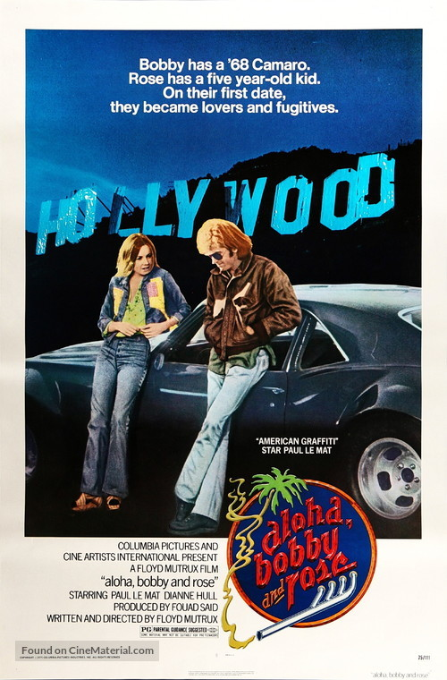 Aloha Bobby and Rose - Movie Poster
