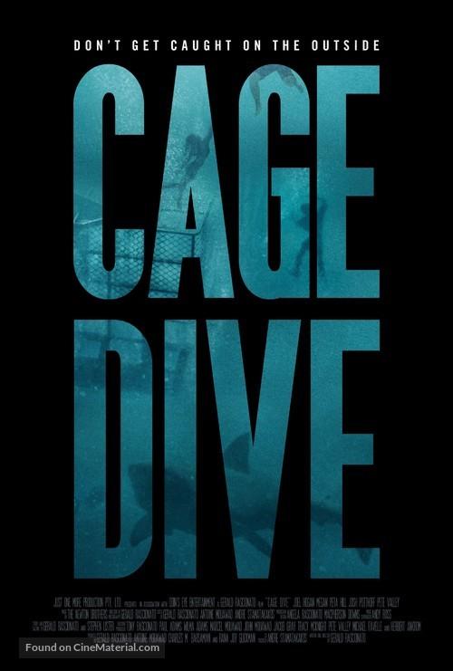 Cage Dive - Australian Movie Poster