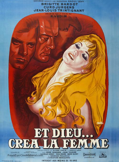 Et Dieu... créa la femme - French Re-release poster