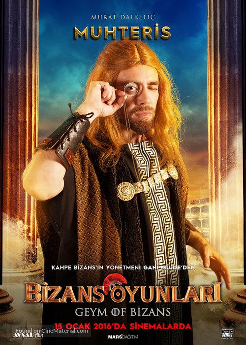 Bizans Oyunlari - Turkish Character movie poster
