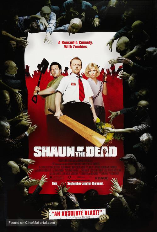 Shaun of the Dead - British Movie Poster