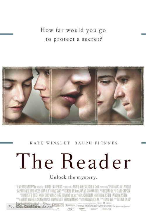 The Reader - Theatrical movie poster