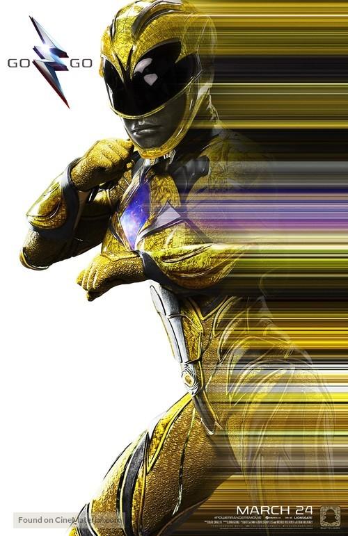 Power Rangers - Movie Poster