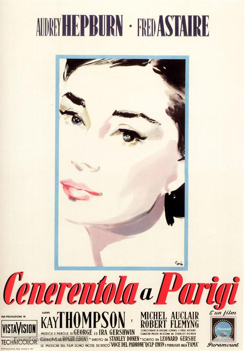 Funny Face - Italian Movie Poster