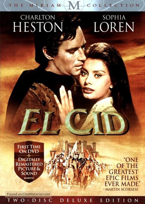 Image result for el cid dvd cover