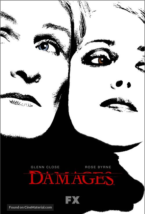 """Damages"" - Movie Poster"