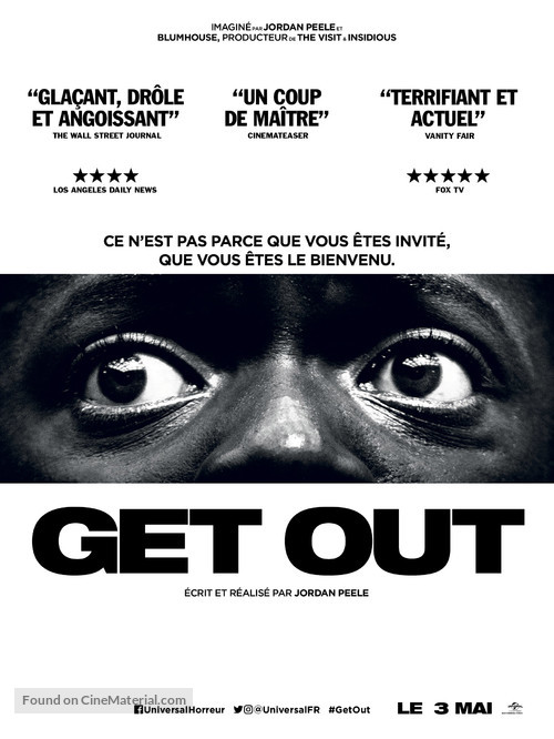 Get Out - French Movie Poster