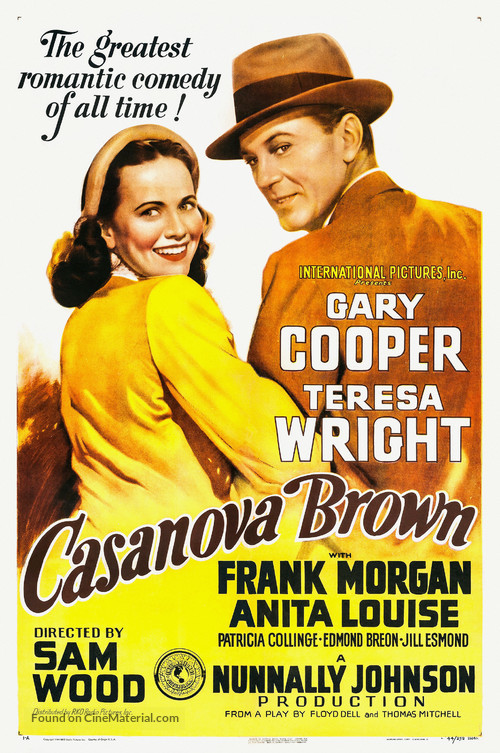 Casanova Brown - Movie Poster