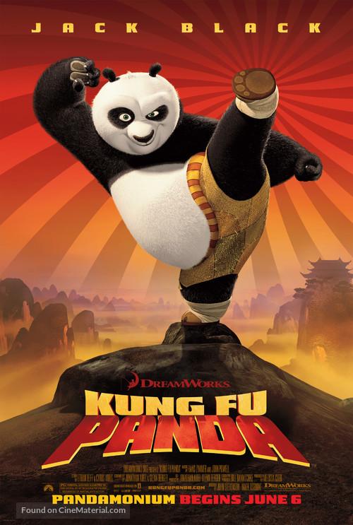 Kung Fu Panda - Movie Poster