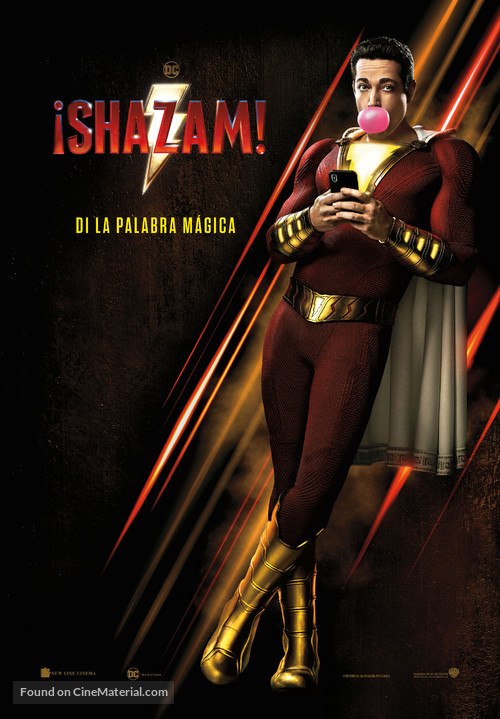 Shazam! - Spanish Movie Poster