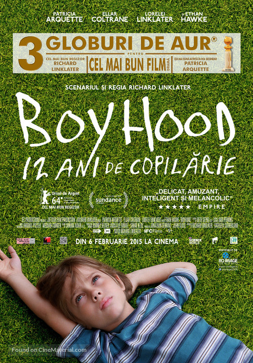 Boyhood - Romanian Movie Poster