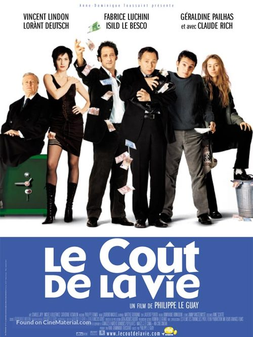 Le coût de la vie - French Movie Poster