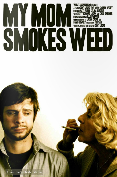 My Mom Smokes Weed - Movie Poster