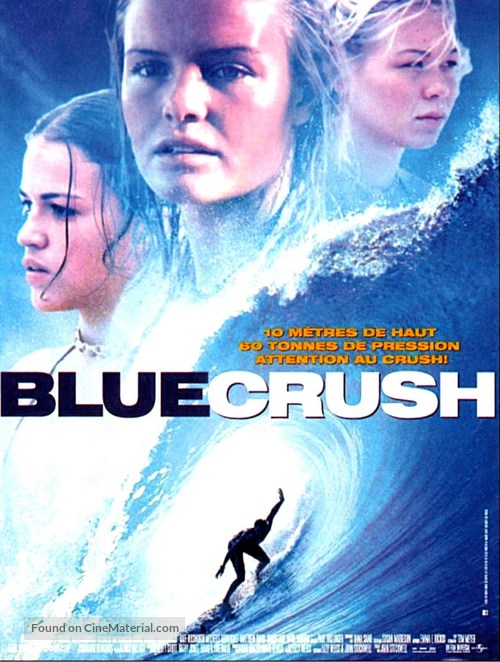 Blue Crush - French Movie Poster