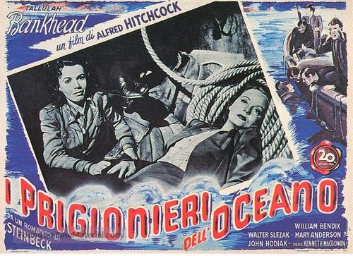 Lifeboat - Italian poster