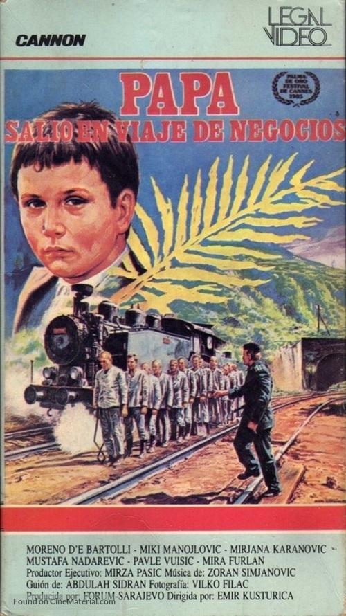 Otac na sluzbenom putu - Argentinian VHS cover
