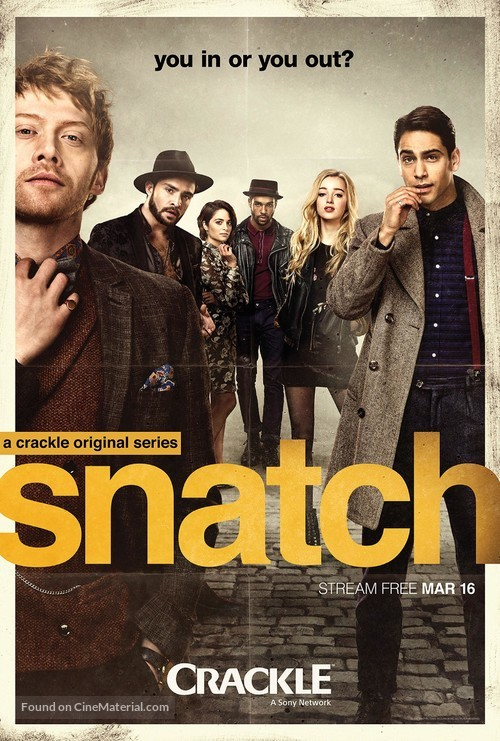 """Snatch"" - Movie Poster"