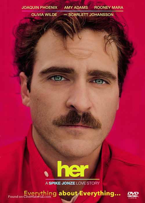 Her - DVD movie cover