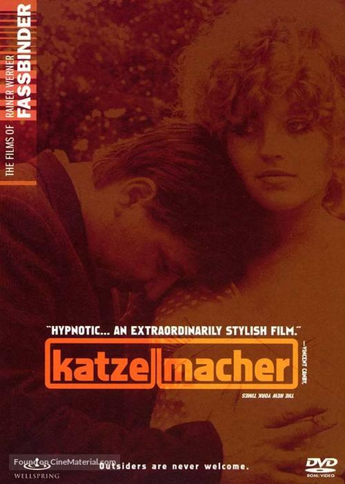 Katzelmacher - DVD cover