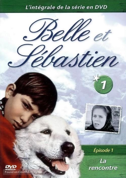 """Belle et Sébastien"" - French DVD movie cover"